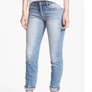 Joe's Jeans Gwyneth Skinny Cuffed Ankle Jeans